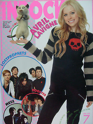 Avril Lavigne - Clippings From Japanese Magazine Inrock