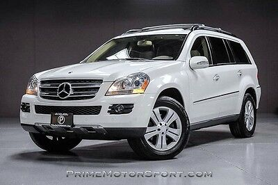 2008 Mercedes-Benz GL-Class Base Sport Utility 4-Door 2008 MERCEDES BENZ GL450 4MATIC PREMIUM REAR DVD HEATING PKG 19S