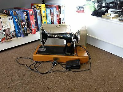 Vintage Singer Sewing Machine with motor