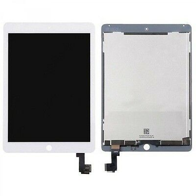 New iPad Air 2 A1566 A1567 ipad 6 Touch Glass Digitizer LCD Screen Display White