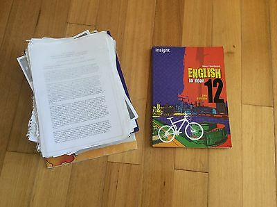 Insight English In Year 12  2nd edition by Beardwood
