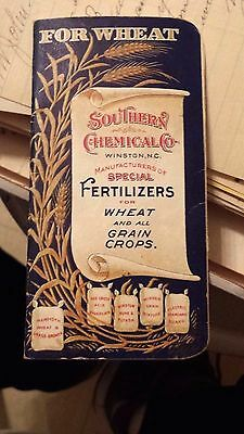 """Collectible Dated 1902 """"SOUTHERN CHEMICAL CO."""" Advertising Booklet-Winston,N.C."""