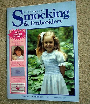 smocking and embroidery book no. 15