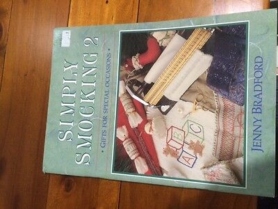 simply smocking book 2 Gifts for special occasions by Jenny Bradford.