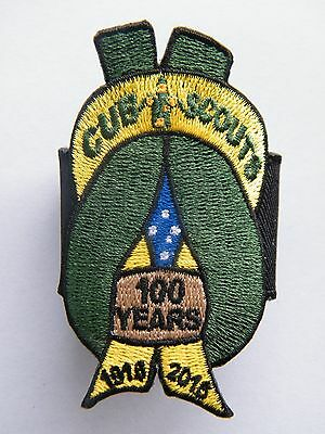 2016 CENTENARY OF CUB SCOUTS WOGGLE, 100 years of Cubbing