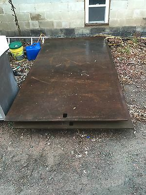 Road Plate 5X10 Steel Metal 3/4 Thick Blacktop Safety Bridge Excavator Cover
