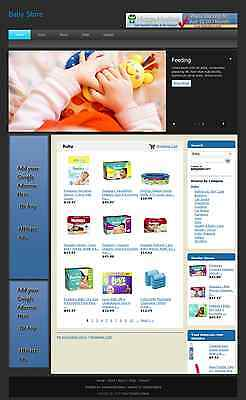 SALE Fully Automated Amazon Affiliate  Baby Store Website Business