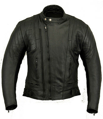 Stealth Ladies Leather Motorbike Protection Jacket Womens Motorcycle Wears