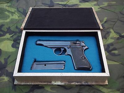Faux Book Storage Box For Wwii German Walther Pp Pistol- Gun/clips Not Included
