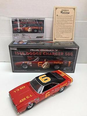 New, 1/24 University Of Racing, 1969 Dodge Charger 500, #6, Charlie Glotzbach