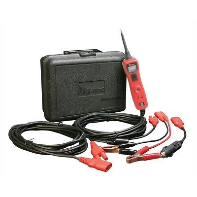 New Power Probe III 12 - 42 V Lead Tester with Case Red PP319FTC-RED