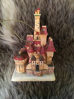 Disney Traditions Beauty & The Beast Hanging Beast's Castle (Jim Shore)