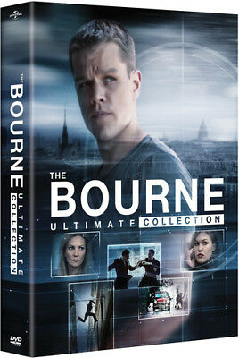 The Bourne Ultimate Collection [New DVD] Boxed Set, Digibook Packaging
