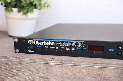 Oberheim Matrix 1000 Vintage Analog Polyphonic Synthesizer