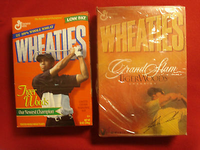 Wheaties Tiger Woods Our Newest Champion And Tiger Woods Grand Slam Champion