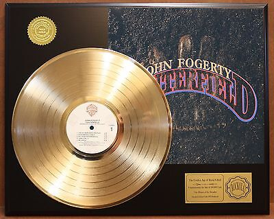 John Fogerty Centerfield Gold Lp Record Ltd Record Display