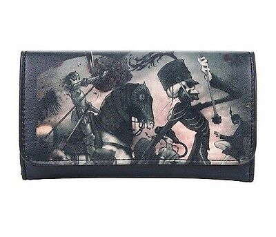 My Chemical Romance Flap Wallet Trifold Billfold The Black Parade Skeleton Band