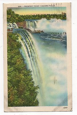 Prospect Point Niagara Falls Vintage Postcard, Aug16