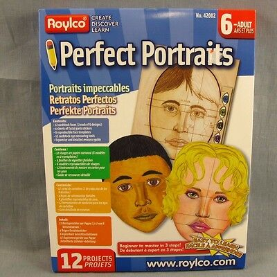 Perfect Portraits Roylco 12 Projects NEW Draw Faces Facial Forms Face Shapes