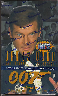 James Bond Mint Sealed Series Ii Inkworks Trading Cards: 007 Films Of The 1970S