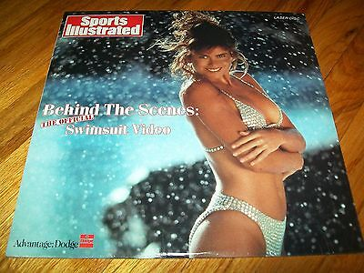 SPORTS ILLUSTRATED - BEHIND THE SCENES: THE OFFICIAL SWIMSUIT VIDEO Laserdisc LD