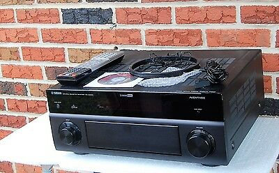 Nice Yamaha AVENTAGE RX-A2000 7.2 Channel 405 Watt Receiver ~ Excellent