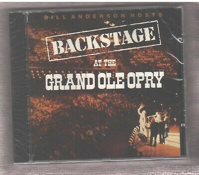 Backstage at the Grand Ole Opry CD 2000 Vince Gill Brad Paisley Chely Wright NEW