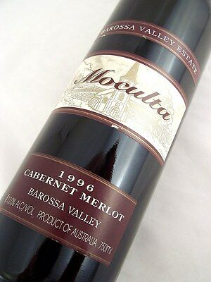 1996 BAROSSA VALLEY ESTATE Moculta Cabernet Merlot Isle of Wine