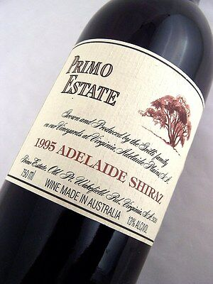 1995 PRIMO ESTATE Adelaide Shiraz Isle of Wine