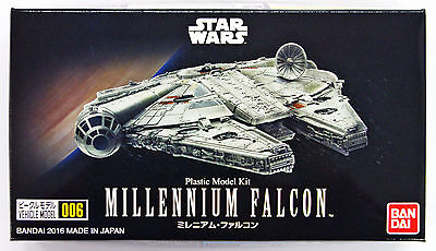 Bandai Star Wars Vehicle Model 006 Millennium Falcon kit 105015 **PRE ORDER**