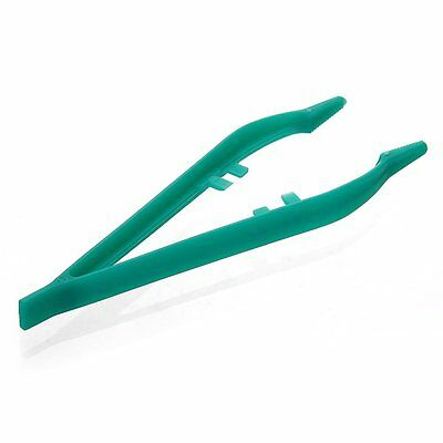 5pcs 12cm Plastic clip Tweezer for feeding Reptiles HY
