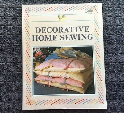 DECORATIVE HOME SEWING Decor Quilting Project Craft Book (1987) Paperback