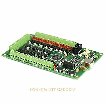 Upgrade CNC 4 Achse MACH3 USB Motion Controller Steuerung Karte USB Hot Swapping