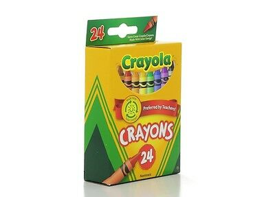 Crayola Crayons 24 ct (Pack of 2), New