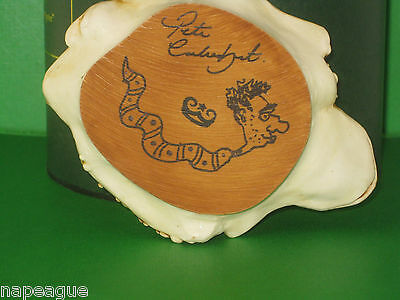 """Harmony Kingdom-""""RATHER LARGE HUDDLE""""- Many Frogs-Retired-Sgn. by Pete-Made 1995"""