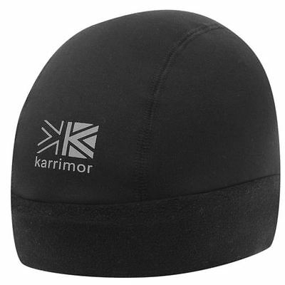 Karrimor Thermal Hat Beanie New With Tags Stretch Lift Black Light Weight