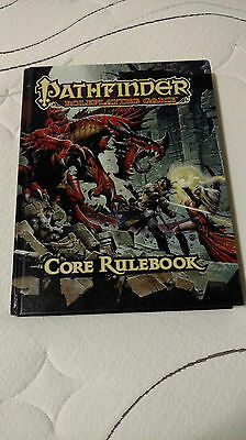 PATHFINDER ROLEPLAYING GAME: CORE RULEBOOK (Hardcover) NO RESERVE