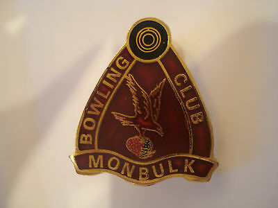 Monbulk (VIC) Bowling Club Badge