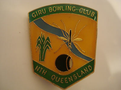Giru (North QLD) Bowling Club Badge