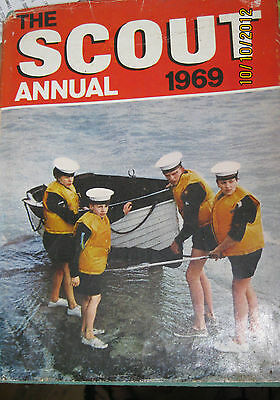 Vintage - Collectable - Retro - The Scout Annual Book - 1969