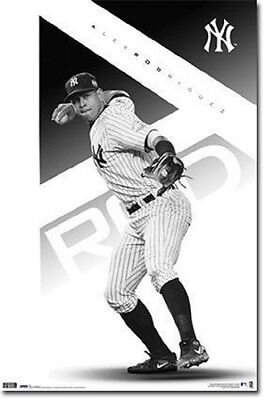 "Alex Rodriguez Poster ""brand New"" New York Yankees ""licensed"" Brand New"