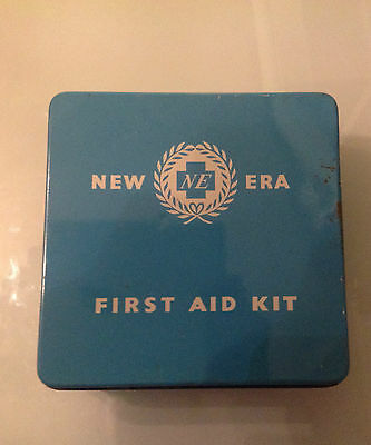 Vintage NEW ERA First Aid Kit MANCHESTER WOOLLEY ANTISEPEPTOL COMPLETE PROP