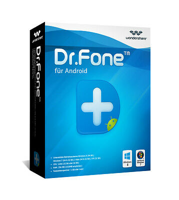 Wondershare Dr.Fone 6.0 Android ( Datenrettung) dt.Vollvers.Download