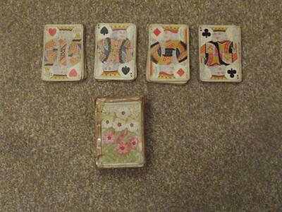 De La Rue Rare Pack Of Dexter 52  Playing Cards  See Photos For Full Details