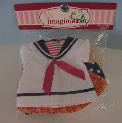 18 Inch Anne Estelle Classic Sailor Outfit Tonner  Mint In Package