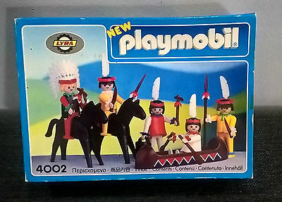 Playmobil 4002 Western Indian New Very Rare!