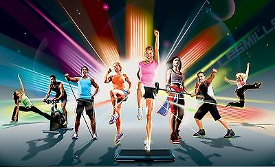 LM Body Combat, Body Pump, Body Balance, Body Attack, - Workout DVD Video