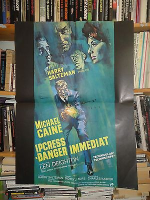 MICHAEL CAINE/ IPCRESS FILE/french poster