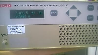 Keithley 2306 Dual Channel Battery Charger Simulator