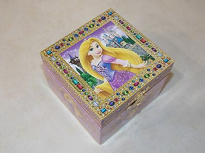 Authentic Disney Parks Rapunzel Jewelry Music Box Tangled Free Shipping